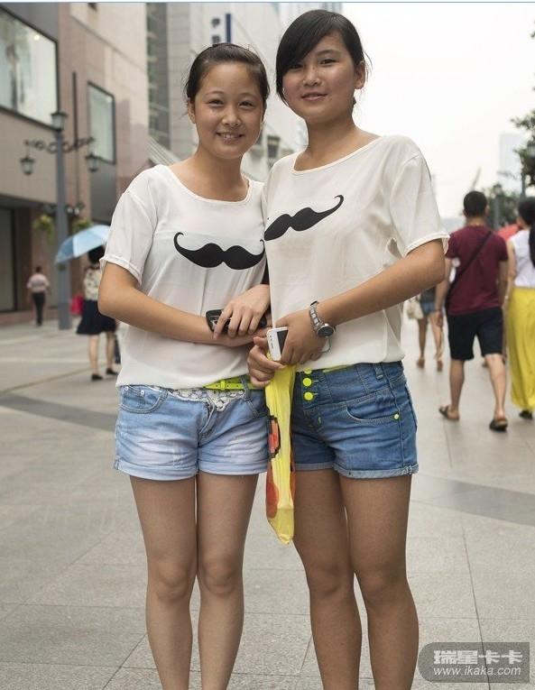 美女看过来――重庆成都两地街拍